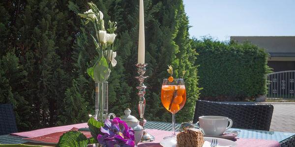 Außenansicht Restaurant vom Hotel Baggernpuhl in Nauen